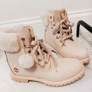 NEW Pink Timberland boots